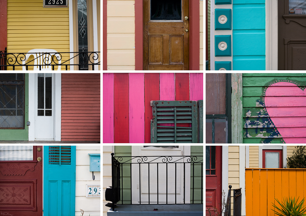 new orleans architecture color love