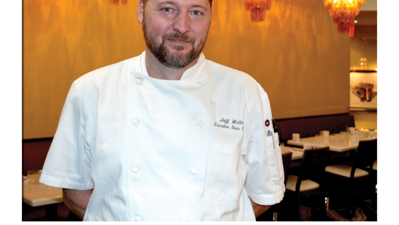 Executive Sous Chef Jeff Mattia of Hyatt Regency New Orleans
