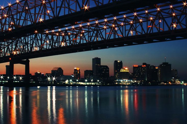 Fans stay in New Orleans hotels and indulge in our local economy