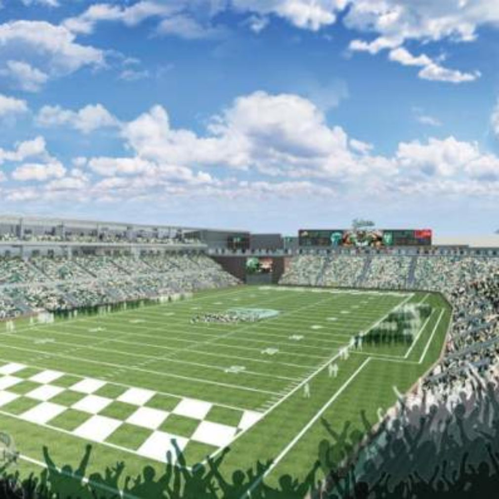 New Yulman Stadium at Tulane University