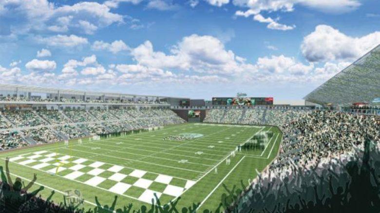 New Yulman Stadium at Tulane University