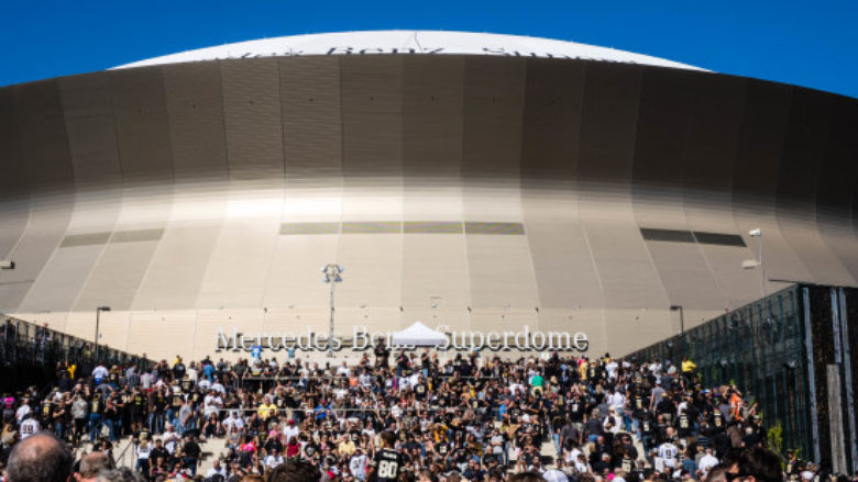 New Orleans Saints Tailgating