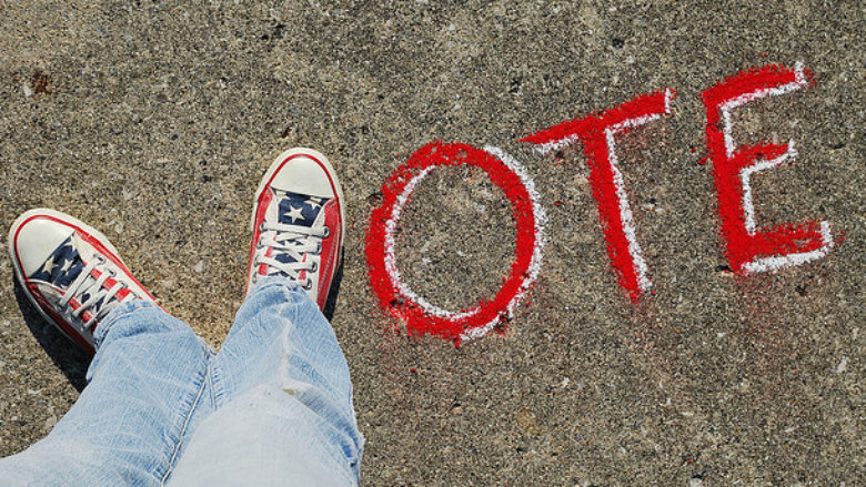 vote-sidewalk-chalk