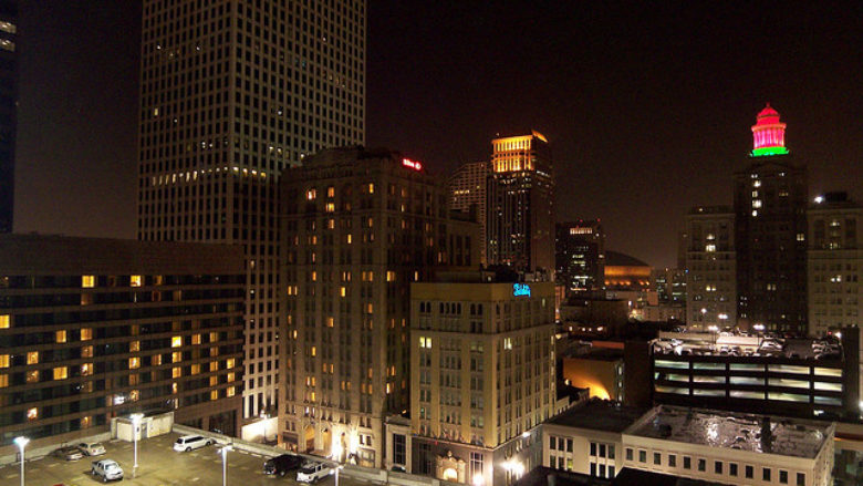 night skyline nola