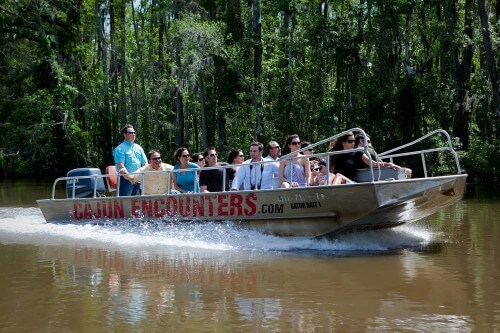 Cajun Encounters Tour Co. is one of several hospitality services offered by P.N.O. (Photo via Cajun Encounters on Facebook)